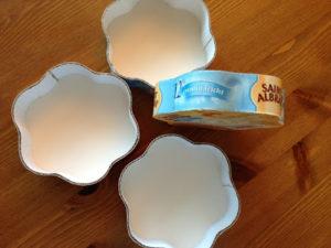 Käseschachteln-Recycling