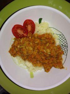 Couscous mit Sauce