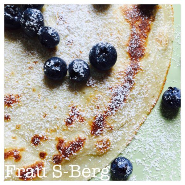 Blaubeeren-Pfannkuchen