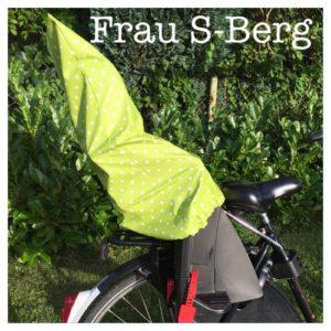 Hülle für den Fahrradsitz DIY