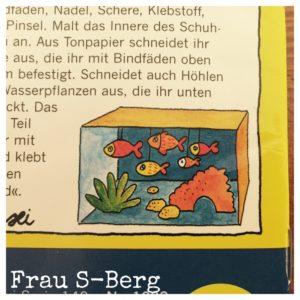 Aquarium in der Kiste