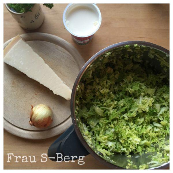 Rezept: Pasta mit Wirsingsauce
