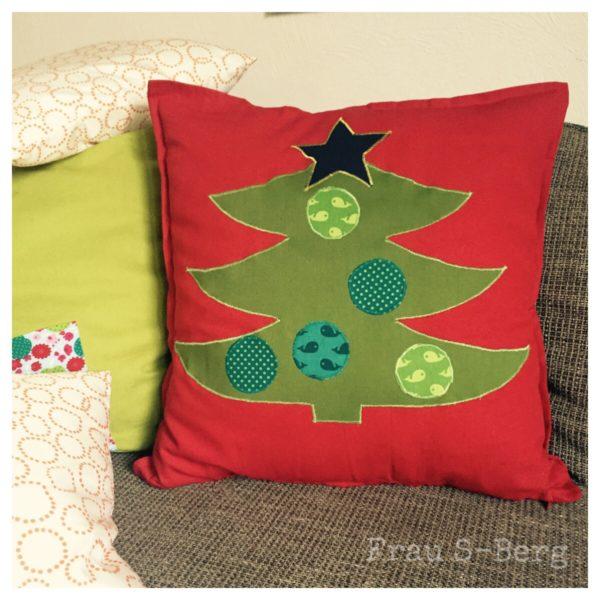 Weihnachtskissen