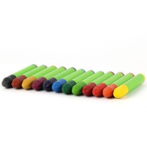 Wachskreide nawaro, 12 Farben