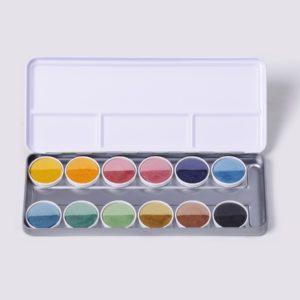 Farbkasten nawaro, 12 Farben