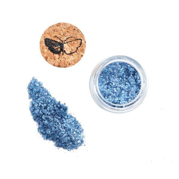 Bioglitzer blau