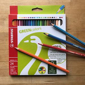 Stabilo Greencolors 24 Stifte