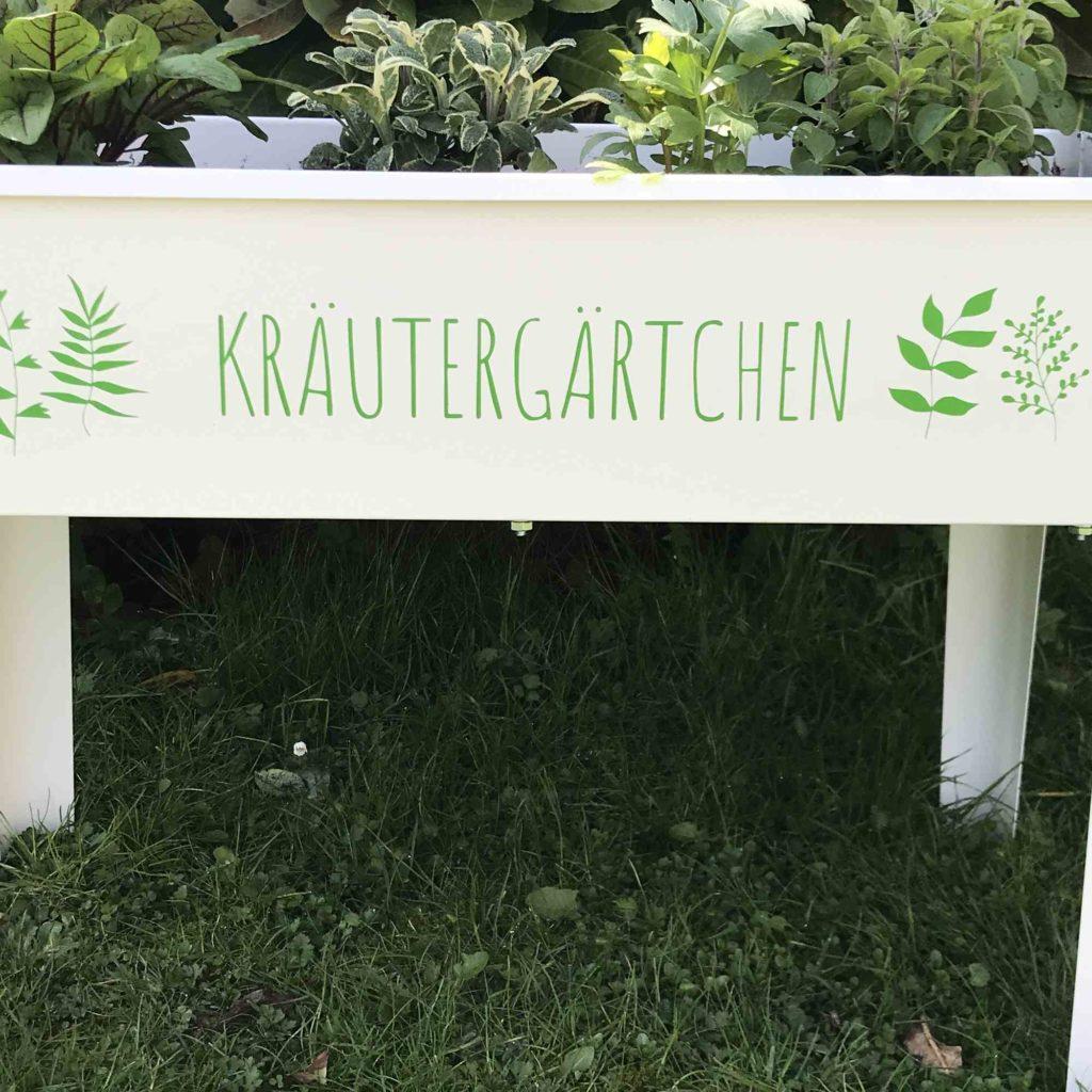 Plotter Anleitung Kräutergarten