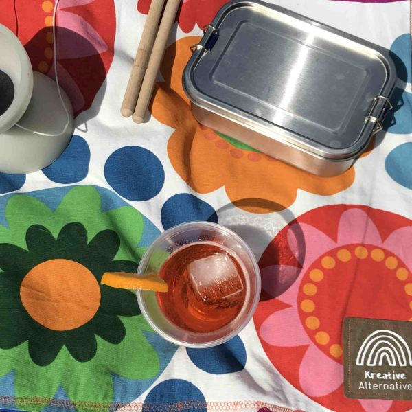 Nachhaltige Picknickdecke